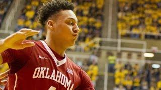 Download Oklahoma's Jamuni McNeace Plays Above The Rim vs. West Virginia | CampusInsiders 3Gp Mp4