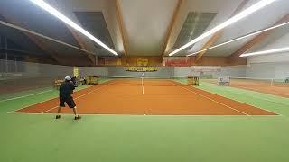 134 ROSENHOF darek CUP. Main TourFinal/R.LISAK vs S.Horodecki 7/6 6/4