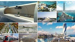 أضخم 10 مشاريع مستقبلية في المغرب |  جسر يربط المغرب باسبانيا و أطول برج في..