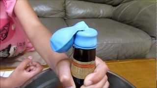 How To Inflate a Balloon with a Bottle