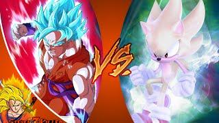 Goku vs Sonic (By Studio B Animation) REACTION!!!