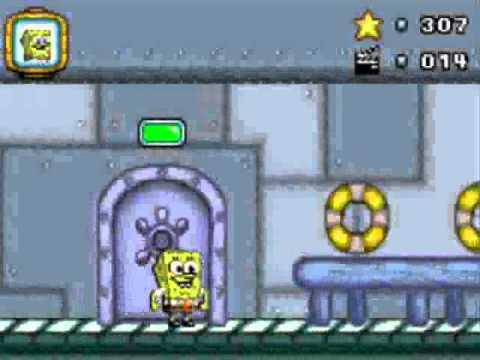 SpongeBob SquarePants Lights Camera Pants GBA Walkthrough Part 2