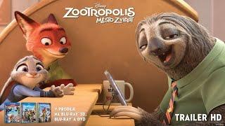 Zootropolis: Město zvířat (2016) Trailer HD CZ 2