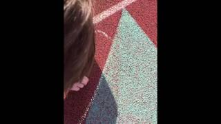 Big cock exposed  during track