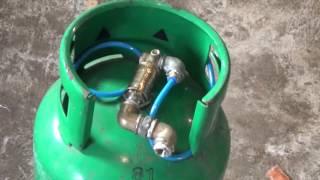 Homemade silent air compressor