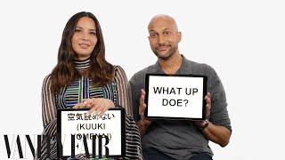 Keegan-Michael Key and Olivia Munn Teach Detroit and Japanese Slang | Vanity Fair