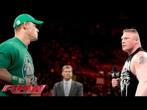 Xxx Mp4 John Cena And Brock Lesnar Sign The Contract For Their Extreme Rules Match Raw April 23 2012 3gp Sex