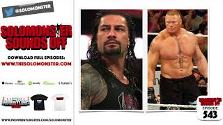The Story Behind The Finish To Brock Lesnar vs. Roman Reigns