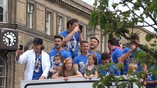 Huddersfield Town Victory Parade Following Promotion To Premier League