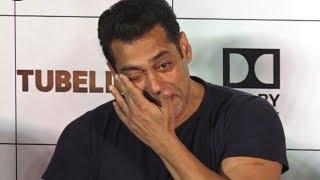 Emotional Salman Khan CRIES at Tubelight Trailer Launch | VIDEO