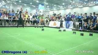 RoboCup 2015 SSL Finals: CMDragons vs MRL