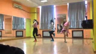 KTI girls (Nazira, Tavat, Lyazzat) Dark hourse cover dance