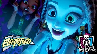 Monster High Electrified Movie! A Stunning Exclusive Premiere | Electrified | Monster High