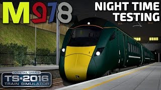 Night Time Testing! | GWR Class 800 (801) | Western Mainlines