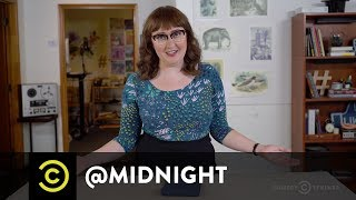 Masterclass - How to Entertain Dinner Guests with Emily Heller - @midnight with Chris Hardwick
