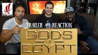 GODS Of EGYPT Trailer #1 REACTION