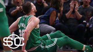 Gordon Hayward fractures left ankle in 1st quarter of Celtics vs. Cavaliers | SportsCenter | ESPN