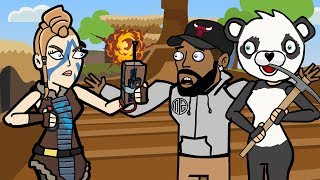 Original Fortnite Animation | The Storm ft. Daequan | The Squad Season 2