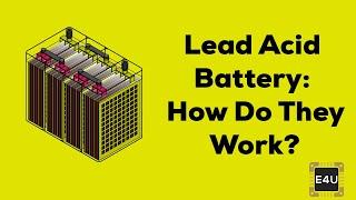 Working Principle of Lead Acid Battery