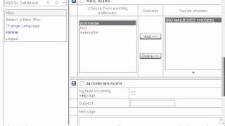 How to create a POP email account in H-Sphere