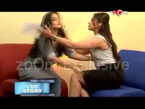 Rani Vidya kiss each other