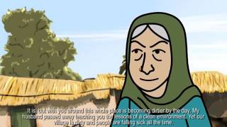 Cartoon Story for kids   Health and Hygiene 2d cartoon animation in sindhi with english subtitles
