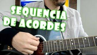 Como tocar violão - Sequencia de acordes maiores