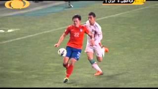 صعود به جام جهاني؛ گل زیباي قوچاننژاد به کره جنوبي