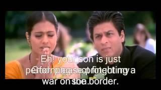 Indian National Anthem Scene from Kabhi Kushi Kabhie Gham wmv