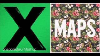 Photographic Maps - Ed Sheeran vs. Maroon 5 (Mashup)
