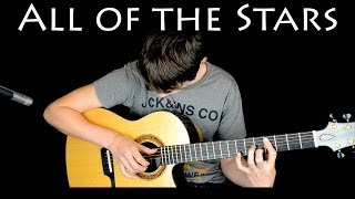 Ed Sheeran - All Of the Stars - Fingerstyle Guitar Cover