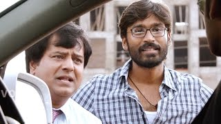 Raghuvaran B.tech Scenes - Dhanush Funny Talking With His Enenmy - Vivek