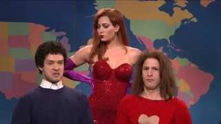 """SNL """"Jessica Rabbit"""" - Jessica Biel, Justin Timberlake, Andy Samberg, Seth Meyer"""