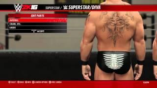 Making 2002 Brock Lesnar WWE 2K16