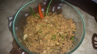 Mula Bortha Recipe - Raddish Bangladeshi Bortha