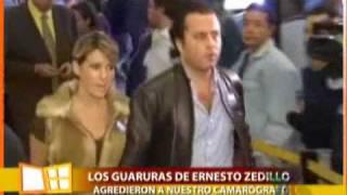 Erika Buenfil y Ernesto Zedillo padre