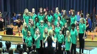 """Deerlake Chorus 2012 """"man in mirror"""""""