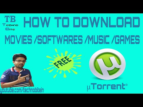 How To Download Movies Using utorrent 2016 [Hindi]