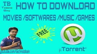 How To Download Movies Using utorrent 2016 [Hindi]