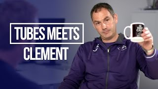 Saving Swansea from Relegation! | Tubes Meets Paul Clement