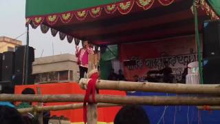 Kharaj Mukherjee, great comedian sung Hai Bangali Hai in Rampurhat College|Annual Social Function|