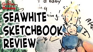 Trying out the new Seawhite watercolour notebooks - Review