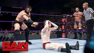 Austin Aries & Gentleman Jack Gallagher vs. Neville & TJP: Raw, May 29, 2017