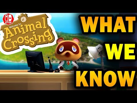 EVERYTHING We Know About Animal Crossing SWITCH Trailer Analysis and Theories