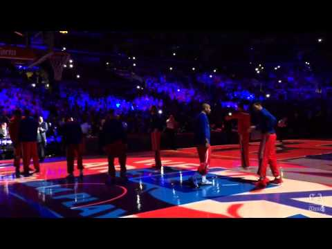 Watch the Clippers dunk line before
