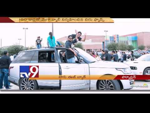 watch Khaidi No.150 a Mega event for Chiru fans in Houston - USA - TV9