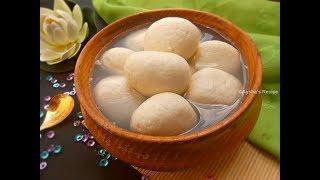 বেস্ট স্পঞ্জ রসগোল্লা রেসিপি    Sponge Rasgulla    Bengali Sponge Roshogolla Recipe