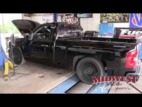 Big Chief s Shop Truck Project Part 1 procharger stainless works exhaust dyno