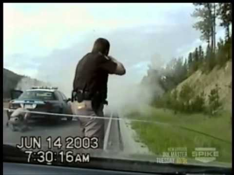 watch World's Wildest Police Videos - Crazy Montana Chase, Shootout & Crash