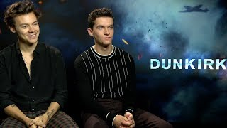 """Harry Styles says he felt """"very emotional"""" watching Dunkirk"""